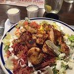 Fabulous Cobb salad.