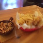 Chips are fresh made, pico too