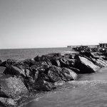 pier in background