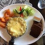 fish pie and rye bread