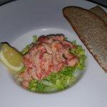 Crayfish cocktail.