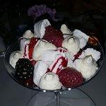 Summer berry Eton mess.