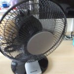 This is your air cooling system when it's warm in the room. If you open the windows, it's noisy.