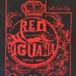 T-shirt logo at Red Iguana