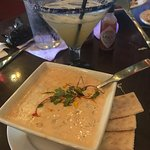 Best lobster bisque ever -- the margarita was pretty tasty too!