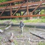 Exploring around the bridge