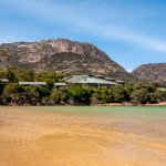 Freycinet Lodge from Richardsons Beach