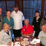 Chef Shad & Melissa, Gary & Debbie, Stef & Mike, and Warren & Cheryl