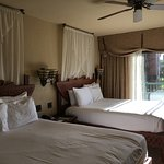 Savanna view room, two double beds