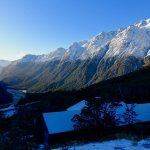 The Routeburn Valley after the snow dusting