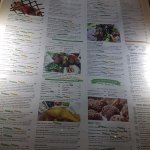Huge menu - yum yum