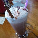 my hot chocolate