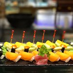 Enjoy sushi and maki at the Japanese Buffet stretch at Cafe Marco.