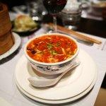 Spicy sour soup.