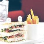 Clubsandwich im Tizian's