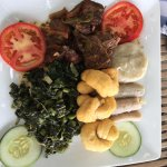 Stew Chicken Jamaican breakfast.... My kinda breakfast!