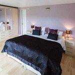 The Walker room configured as a Super King bedroom