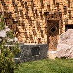 Sauna mit Kneippbecken