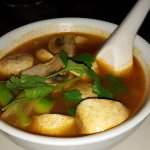 Veggi Tom Yum spicy Soup...with Mushroon