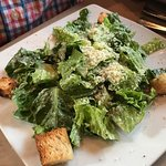 Delicious summer salad and the caesar salad!