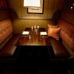 intimate, private booths