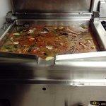 prèparation soupe poisson