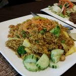 Pineapple fried rice - vegetable