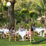 El Jardín Restaurant in the Early Evening