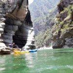 Entry at Purgatory gorge Apurimac River