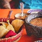 Fresh chips and homemade salsa