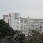 Het hoofdgebouw (7 etages hoog)