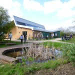 RSPB Centre at Forge Mill Farm.