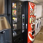 Laundry facilities, ice, soda and vending machine
