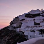 Famous Oia Sunset from our terrace (rm 23)