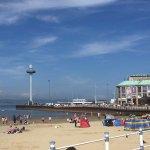 Weymouth beach and skyline