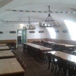 Andechs monastery beer hall