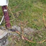 Dangerous 30 amp wires