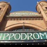 Front of the Hippodrome Circus building