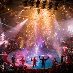 Finale of Hippodrome Christmas Show
