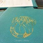 Menu at Ricky's aka The Flamingo Cafe