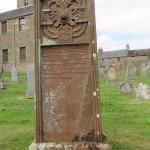 carved gravestone