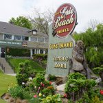 Front of the Erie Beach Hotel
