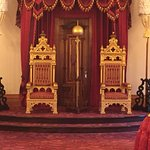 Of course the King and Queens Throne
