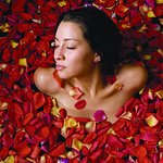 Immerse yourself in a sea of rose petals after a relaxing Master's Massage....