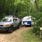 Tunnel Trail Campground Foto