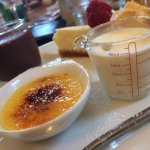 Trio of pudding is fab :-)