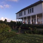 Gorgeous backview of the plantation house
