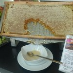 Honey from the hotel roof