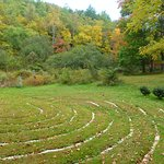 Walk the labyrinth at the Inn on Mill Creek