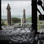 bar glasses soldiers overlooking view!